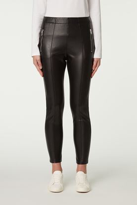 Picture of Black Eco Leather Pants