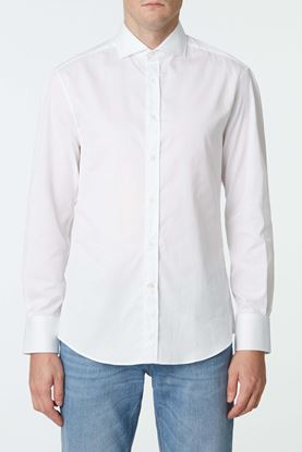 Picture of White tailored formal shirt