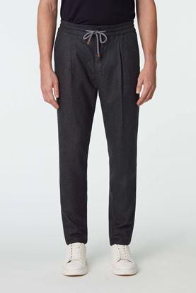 Picture of Dark Grey Drawstring Pants