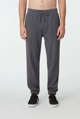 Picture of Grey Cotton Blend Joggers
