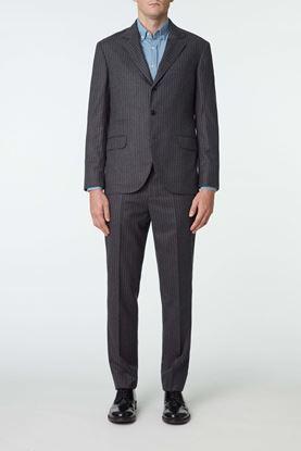Picture of Grey Stripe Wool Blazer