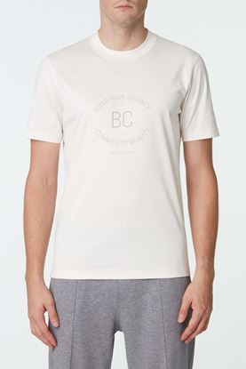 Picture of White Slogan T-Shirt