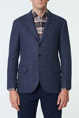 Picture of Navy Wool Blend Blazer