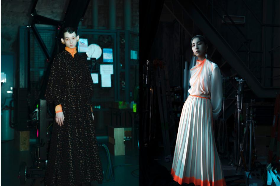 """Nocturnal Window"" Mame Kurgouchi Fall/Winter 2021"
